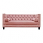 Mobile Preview: Sofa mit rosa Bezug.