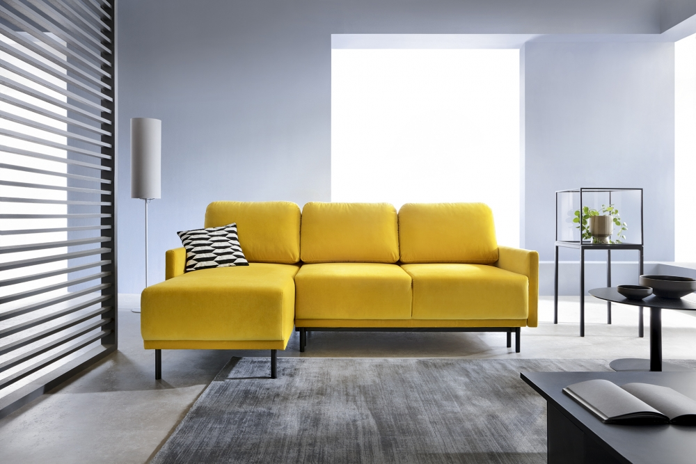 "Schlafsofa ""Laval"" mit Longchair"