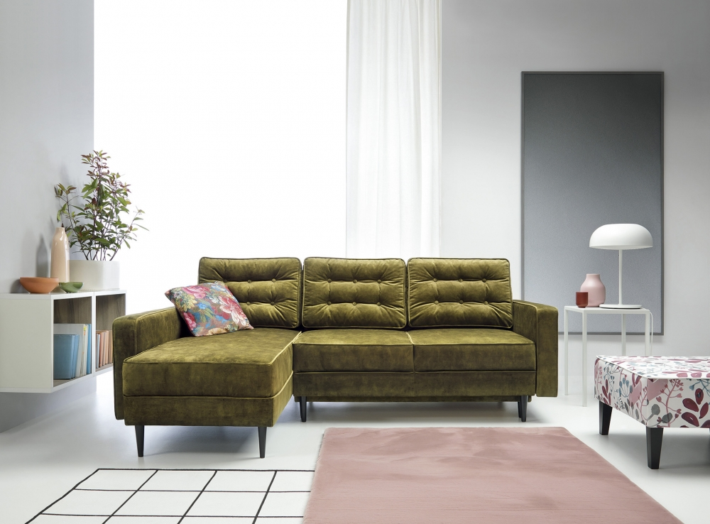 "Ecksofa ""Nancy"" mit Bettfunktion"