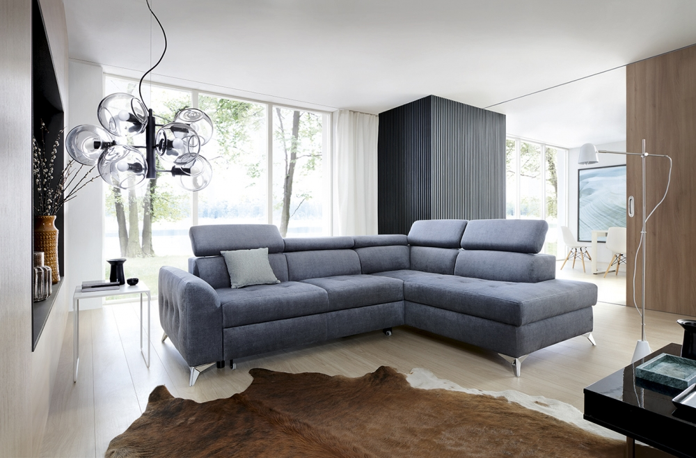 "Sofa ""Saint-Tropez"" mit eleganter Steppung"